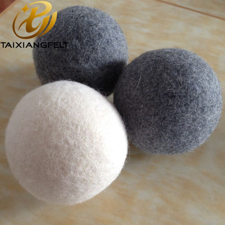 6 XL Pack trending products 2019 new arrivals New Zealand Organic Felt Laundry Wool Dryer Balls