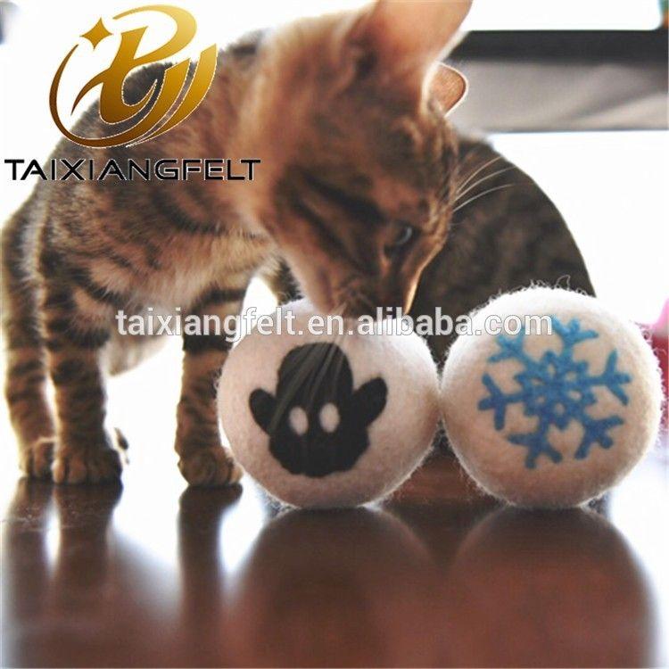 Amazon Bestsellers 2018 Pet Cat Toy Wool Felt Balls