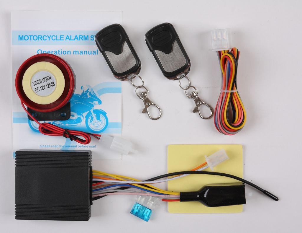 Waterproof Type Motorcycle Alarm