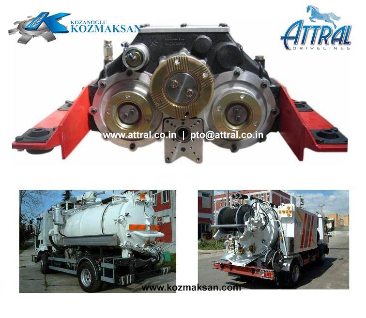 SPLIT SHAFT PTO - UARA2400