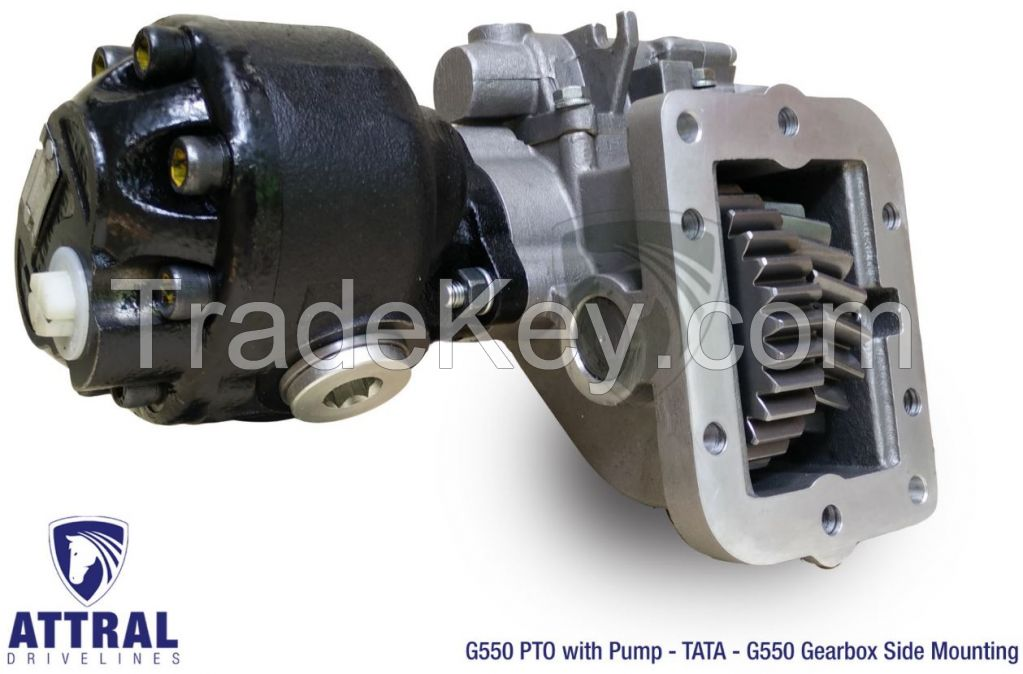 TATA Ultra series 512, 612, 812, 912, 1012 trucks - G550 PTO
