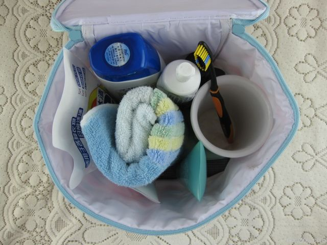 Cosmetic bag, troletry bag, makeup bag