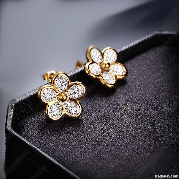 fashion stainless steel jewelry earrings
