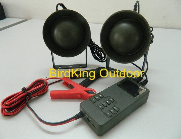 50W 150dB bird caller hunting mp3 bird caller with timer and 3 Hot Keys