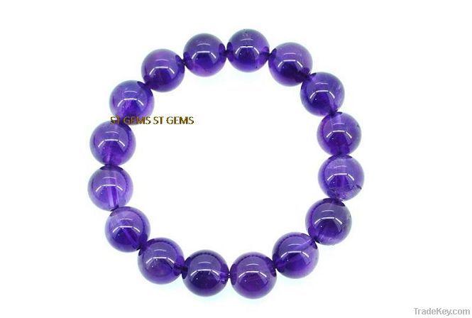 AAA Grade 16 Inch Natural gemstone bead amethyst