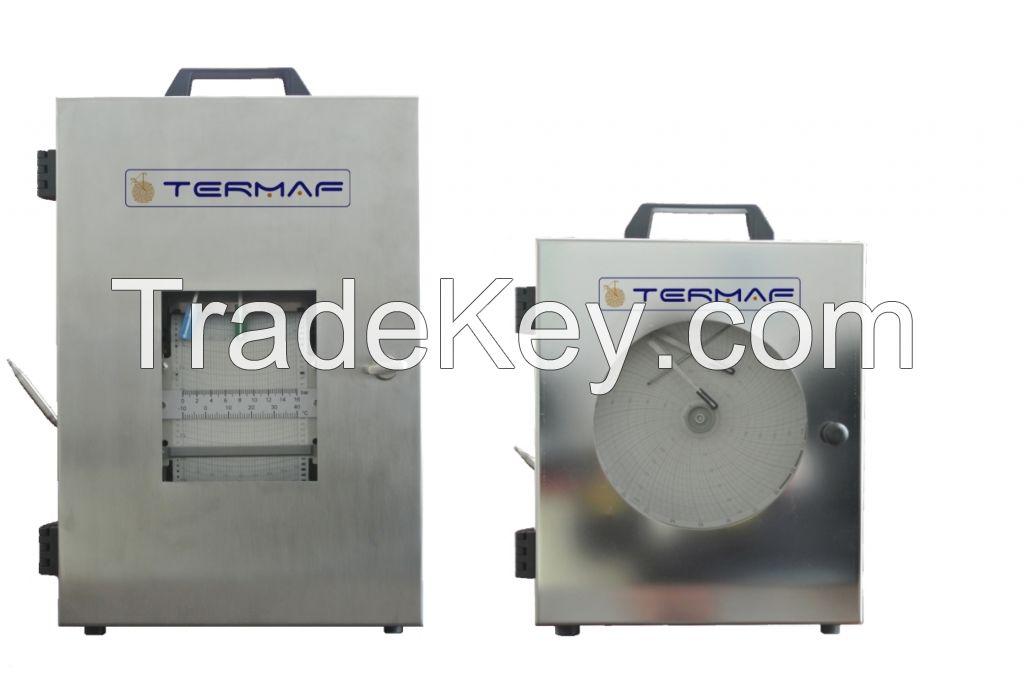 Pressure and Temperature recorder APT -APM series