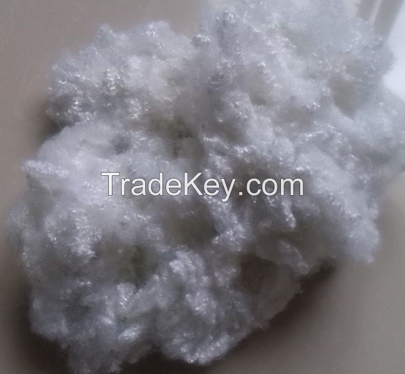 RECYCLED HOLLOW CONJUGATED FIBER