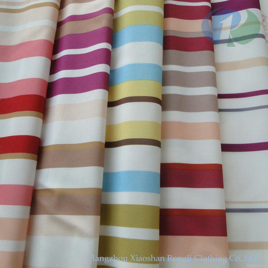 Sell stripe woven printed mattress ticking