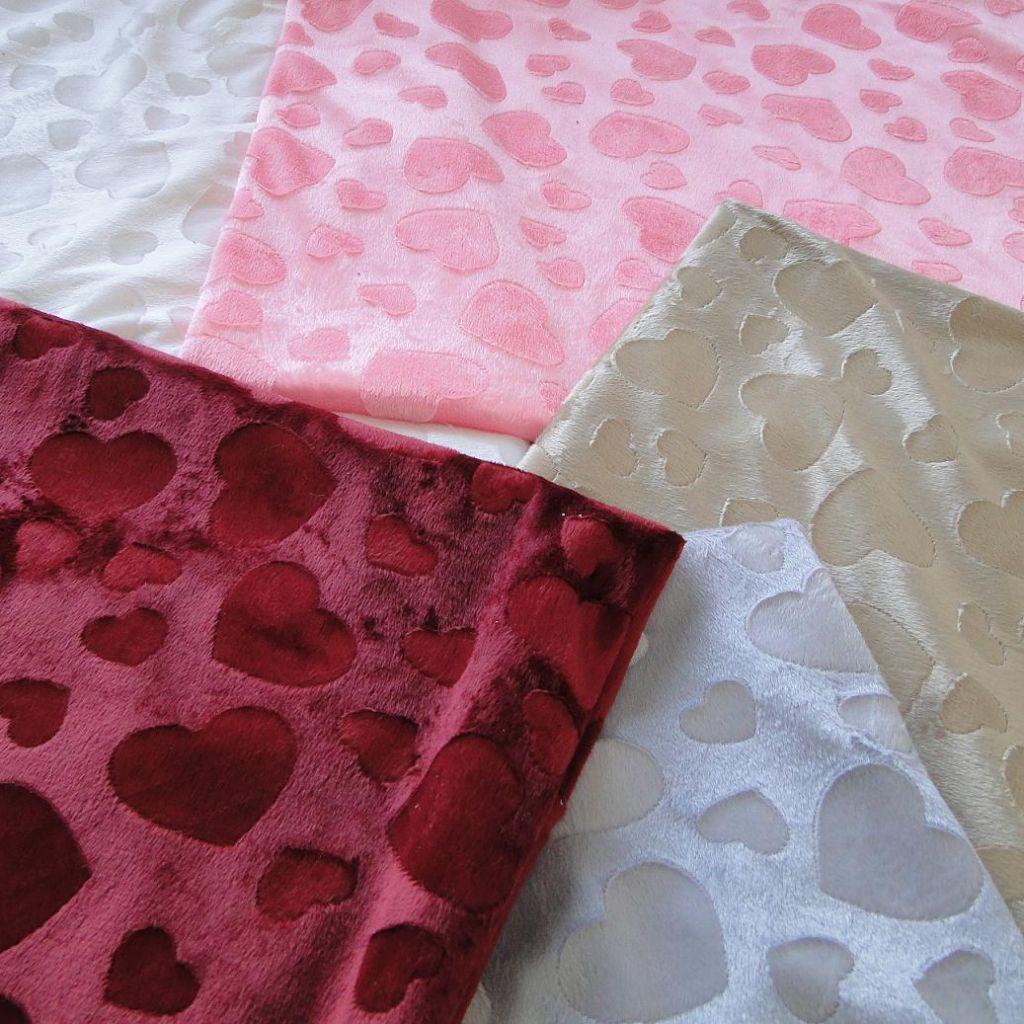 Sell velvet brushed printed mattress fabric