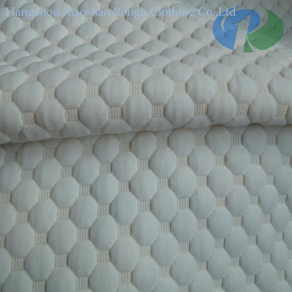 Sell jacquard knitted mattress fabric 02-OK