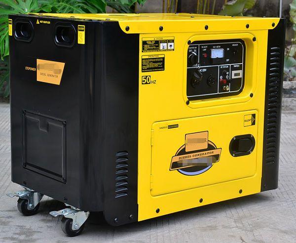 Electric Start Portable Diesel Generator