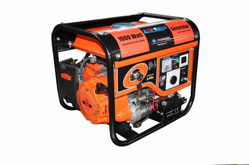 0.85kw Portable Gasoline Engine Generator CG1000