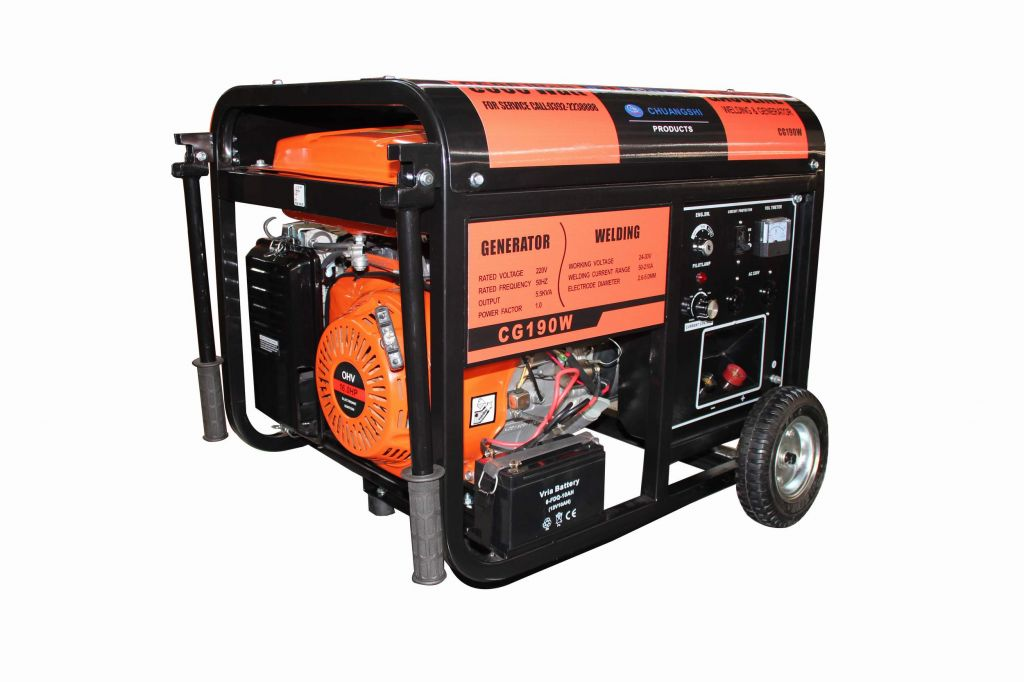 Gasoline Generator and welding CG190W CE Certify