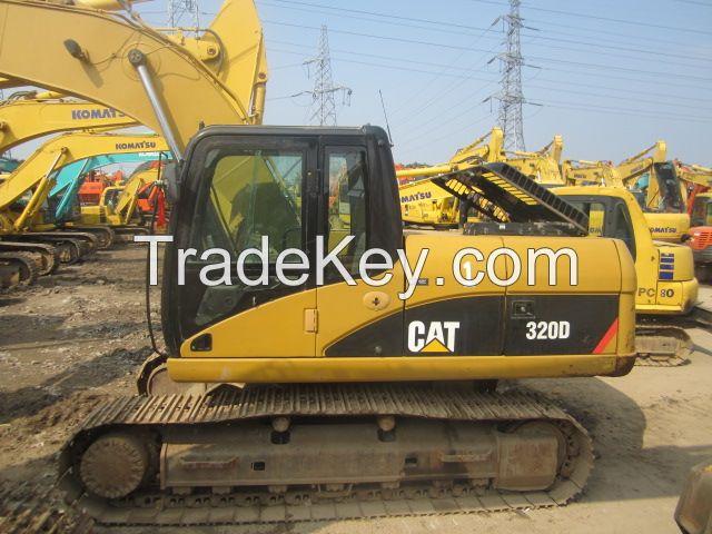 Used Original CAT 320D Excavator of 2009
