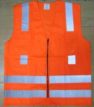 Reflective warning vest