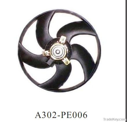 Auto cooling  radiator fan for peugeot