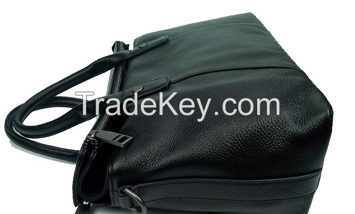 Wholesale new ladies fashion genuine leather handbags from China
