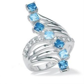 micro pavc silver Rings