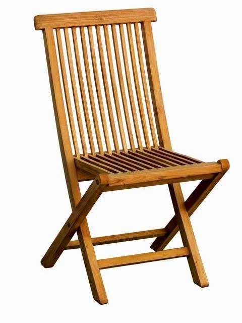 Khuza Folding Chair made of teak wood