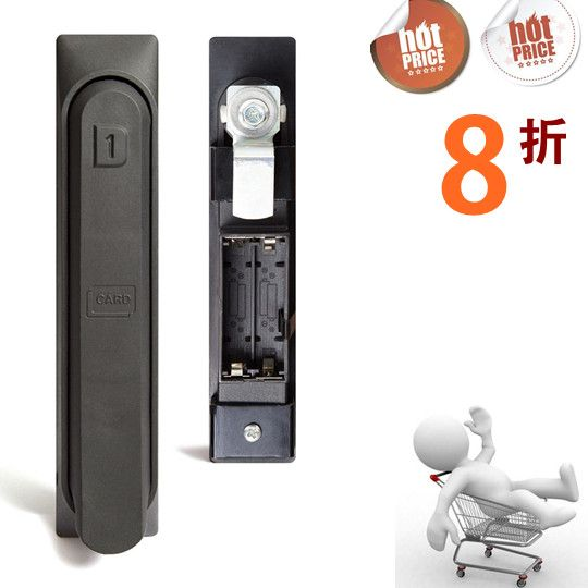 Best Selling Digital Card Lock Access Control System Hotel Lock Cabinet Lock