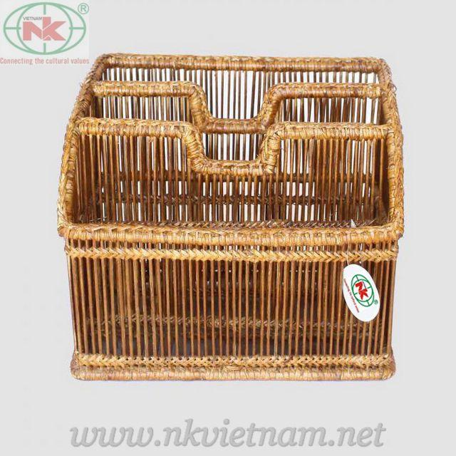 bamboo and rattan basket(skype:nkvietnam1)