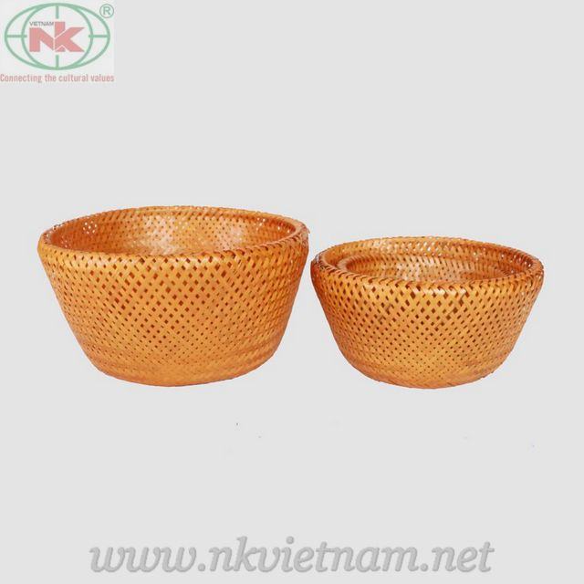 Bamboo basket(skype:kate.spear90)