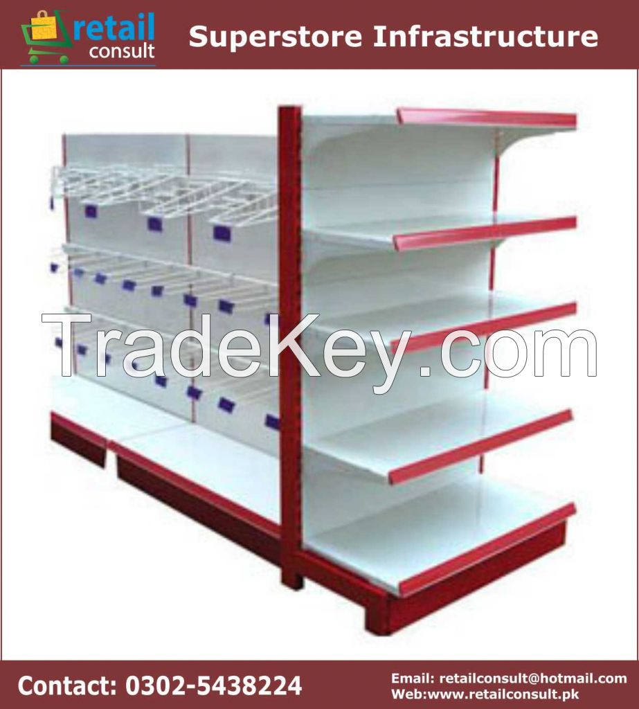 Buy Pakistani Superstore Rack, Store Rack, Cash & Carry Rack