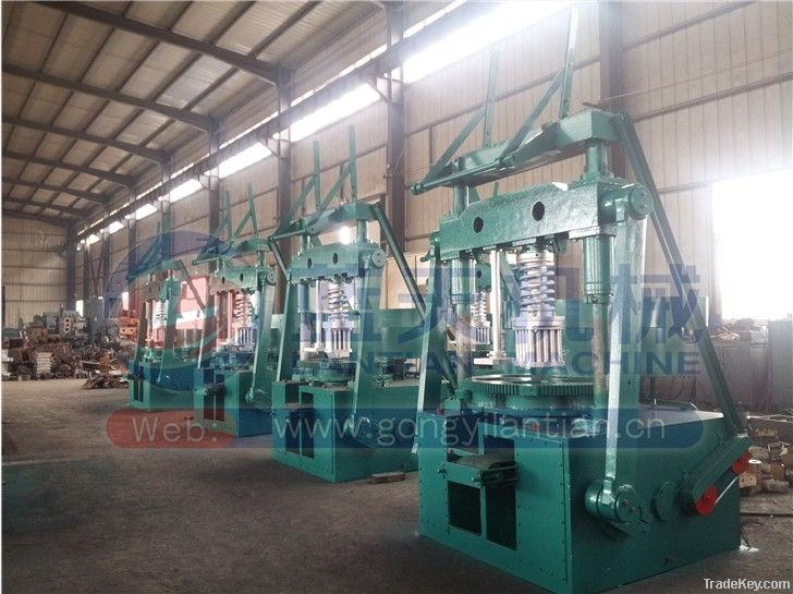 Factory outlet coal briquette machine