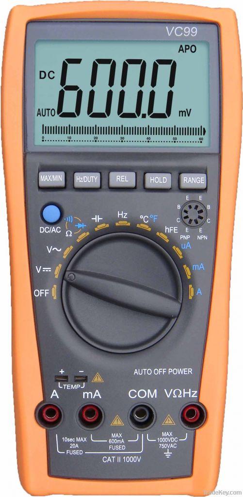 VC99 auto range digital multimeter