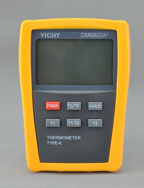 DM6802A+ Dual input channel thermometer