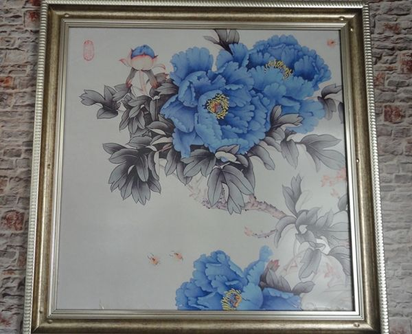 energy saving and heat insulation eco-friendly carbon heating painting and oil painting