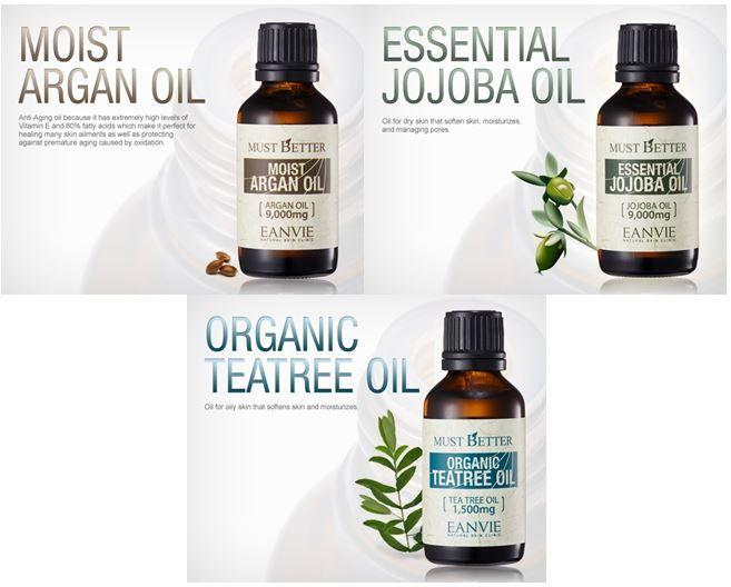 Moisturizing Oil Series (EANVIE Korean Cosmetics)