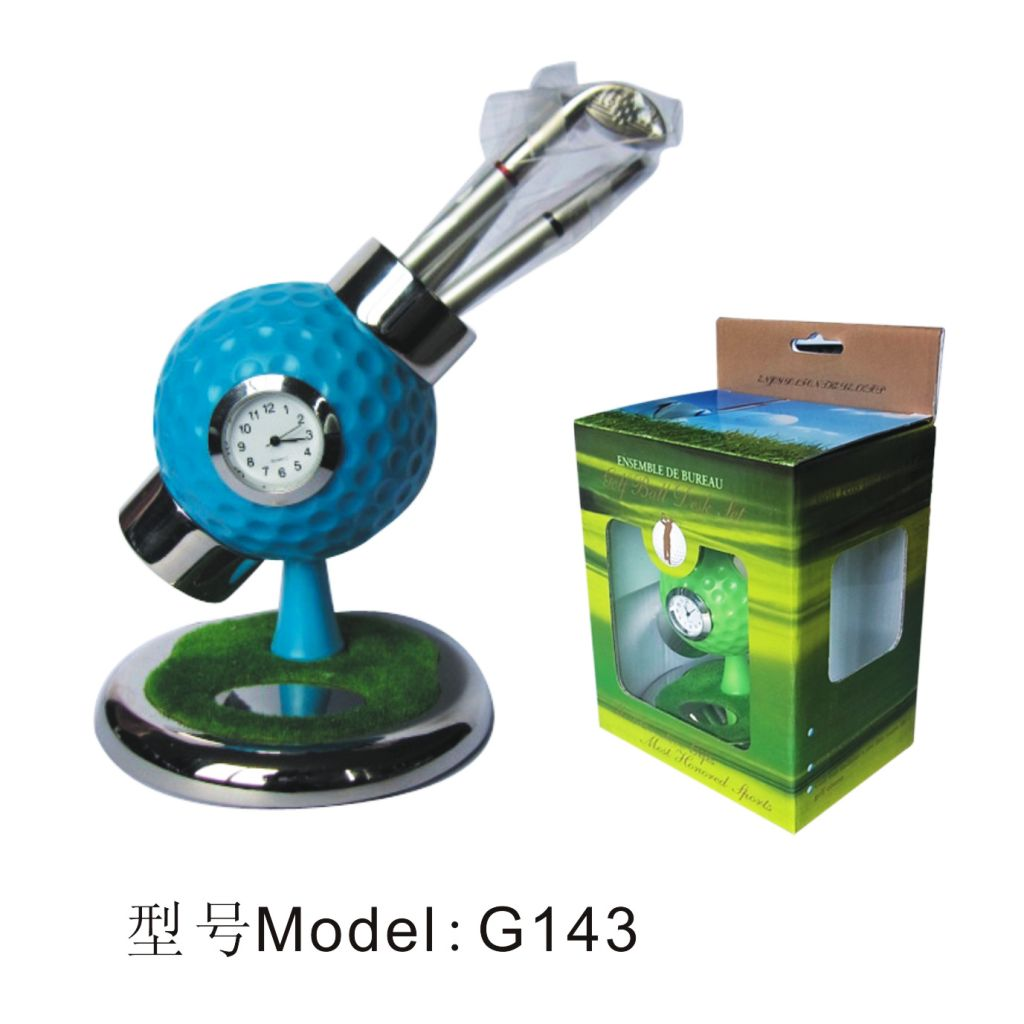 G143 mini golf gift set\ beautiful golf gift sets\ factory golf gift set