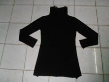 Ladies alk Urban Brand 12 G.G High Neck Long Sweater