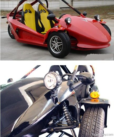 300cc 3 wheel Trike 2 Seat Legal Street Motorcycles For Sale