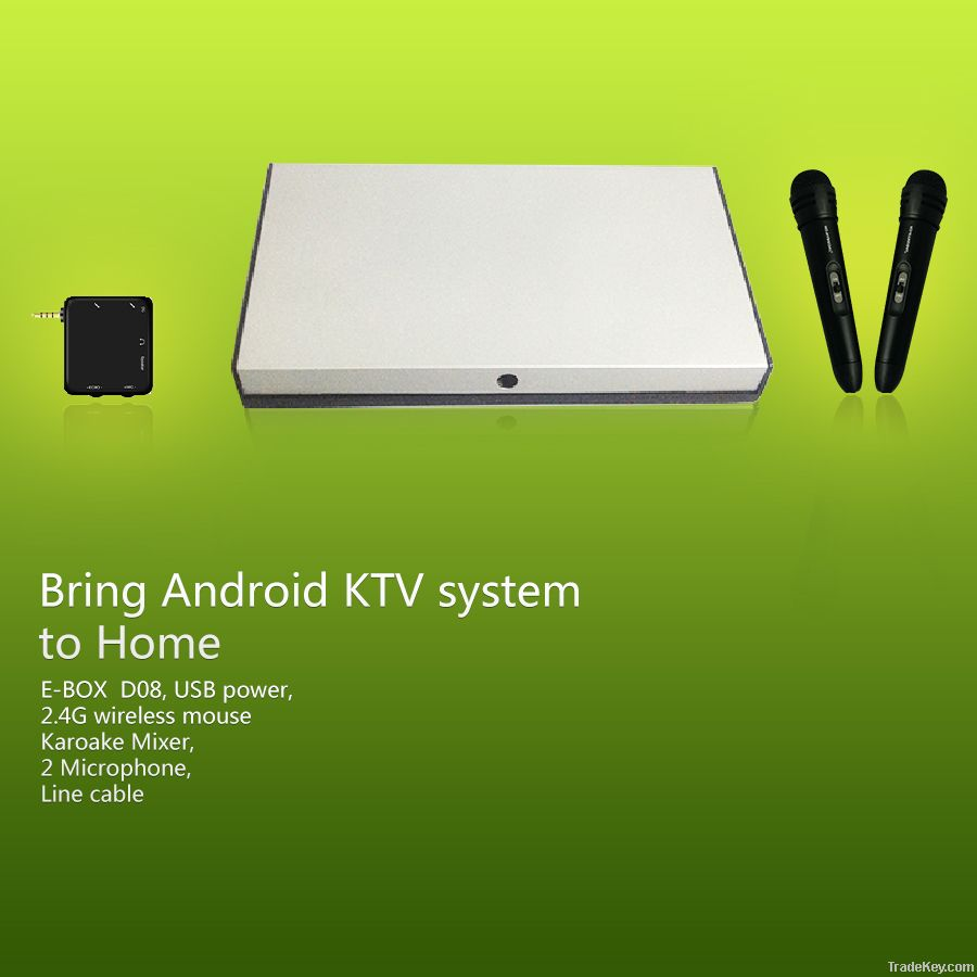 Android wifi dongle tv box