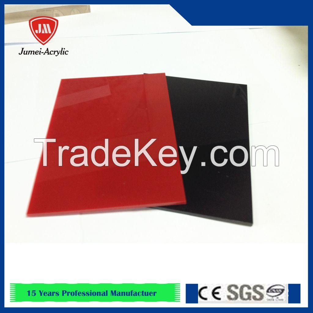 Jumei factory price acrylic panel, plexiglass