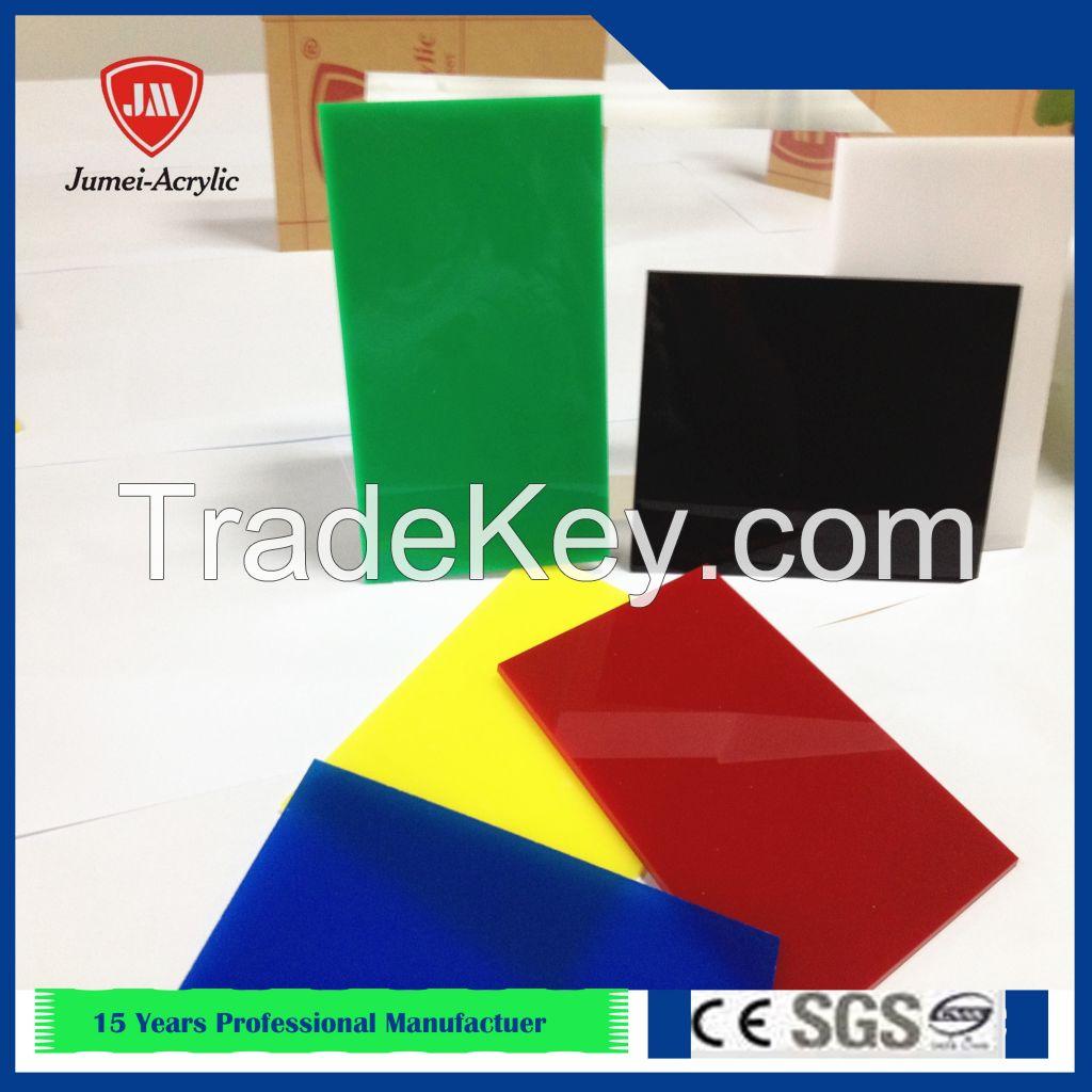 Jumei virgin High Quality Flexible Clear Acrylic Sheet