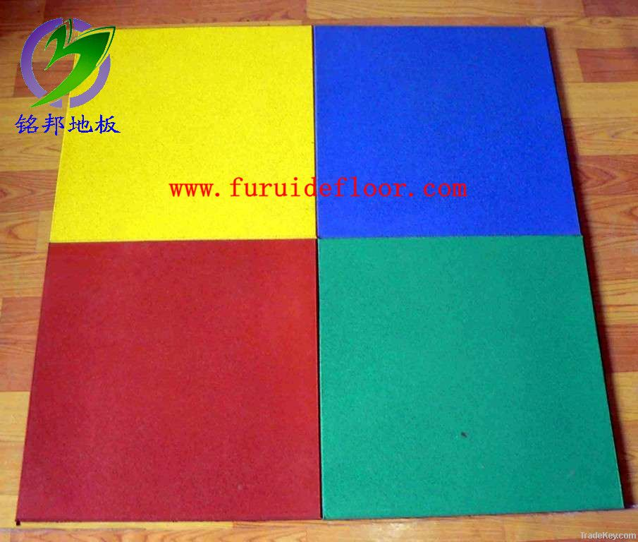 safty rubber tiles for kindergarten floor