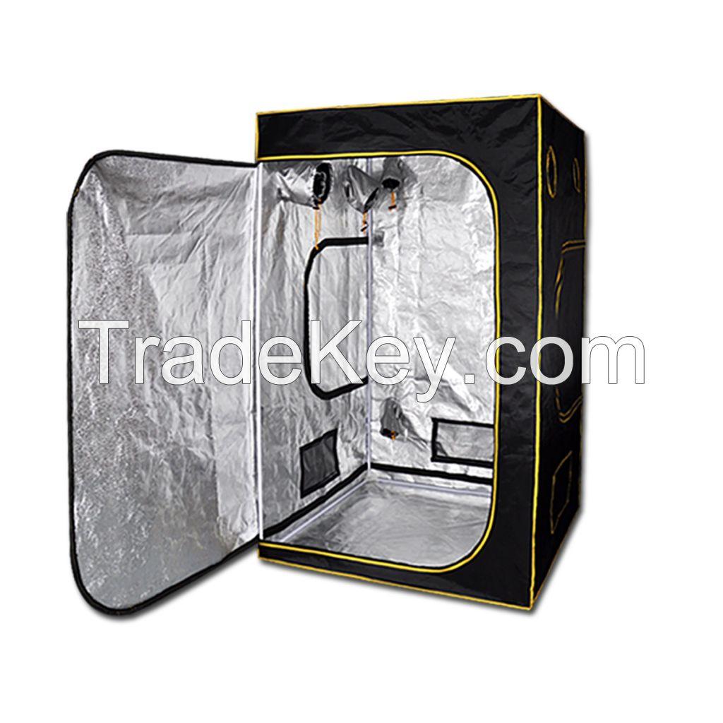 Indoor Reflective Aluminum Inlined Hydroponics Grow Tent Room 1.2mx1.2mx2m