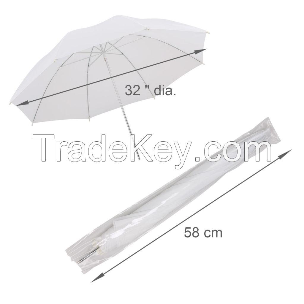 New Studio Photography Soft White Umbrella Light Lighting Stand Kit 8 x 45W
