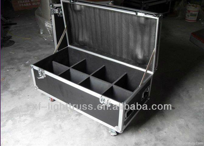 aluminum storage flight case with wheels