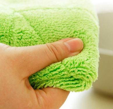 Dual Face Microfiber Wiper Cleaning Cloth/Kitchen Towel Super Absorbant