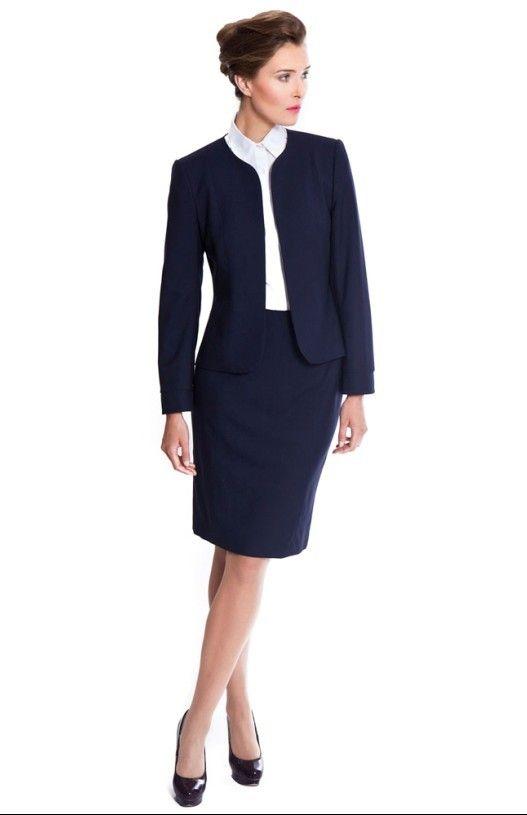 Fashion women office business suits ladies uniform