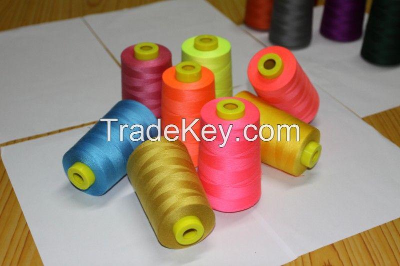 40S/2 100% spun polyester sewing thread