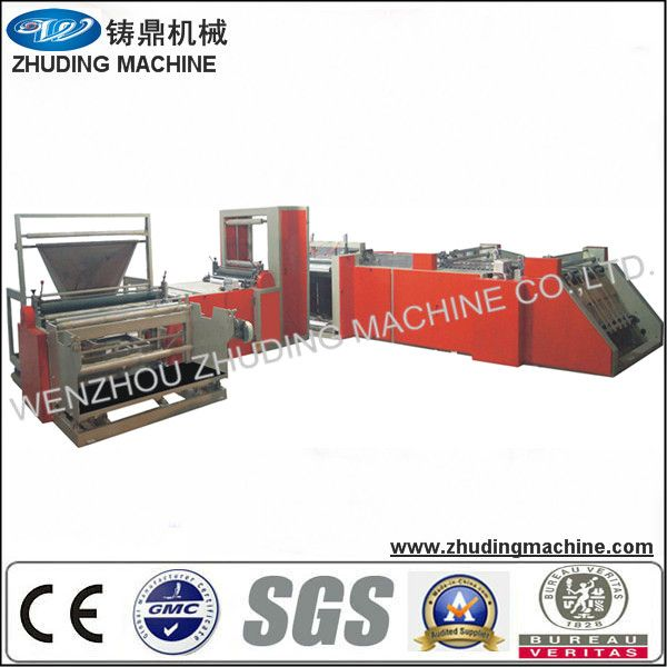 full automatic non woven bag cutting and sewing machine
