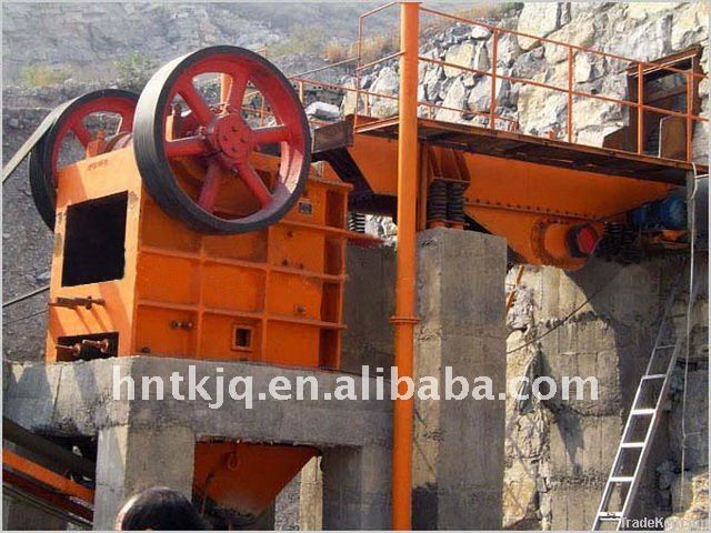 China Widely Used PE Series And PEX Series Jaw Crusher