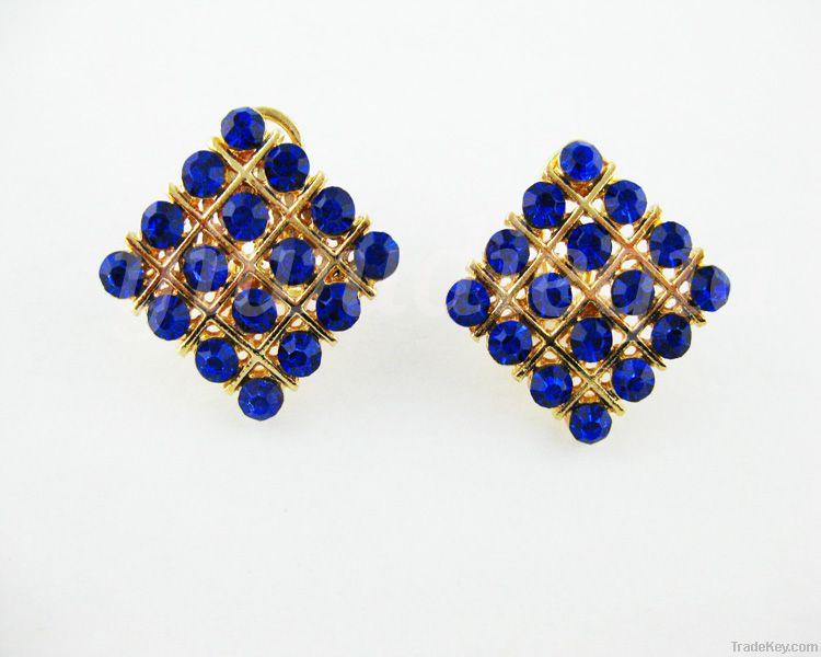 Elegant Diamond Ear Clip