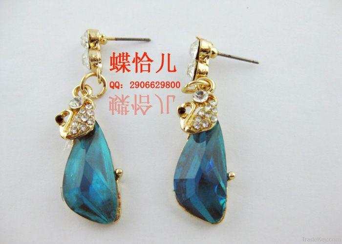 Dangle Stud Earrings