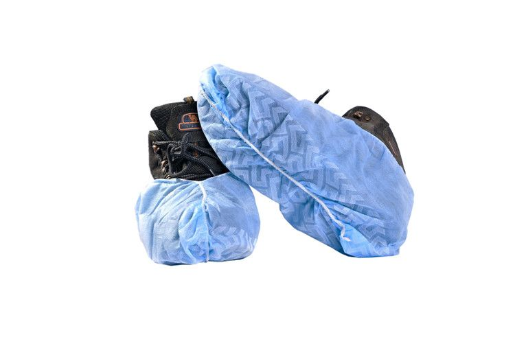 Non-skid disposable shoe covers non woven surgical shoe covers